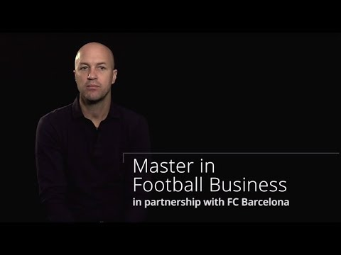Jordi Cruyff - Master in Football Business in partnership with FC Barcelona
