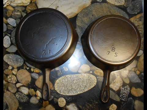 "Homemade Sausage in Birmingham Stove & Range ""Handwritten"" Cast Iron Skillets"