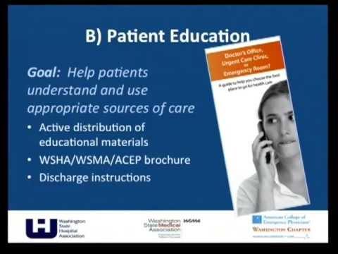 Presentation: Reducing Preventable Emergency Room Visits