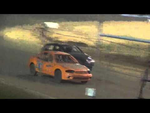 Ark La Tex Speedway ZERO Cancer night 4 cylinder A feature part 2 4/2/16