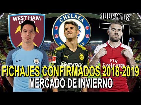 FICHAJES CONFIRMADOS 2018-2019   MERCADO DE INVIERNO