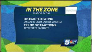 In the zone: mindful eating for a healthy lifestyle