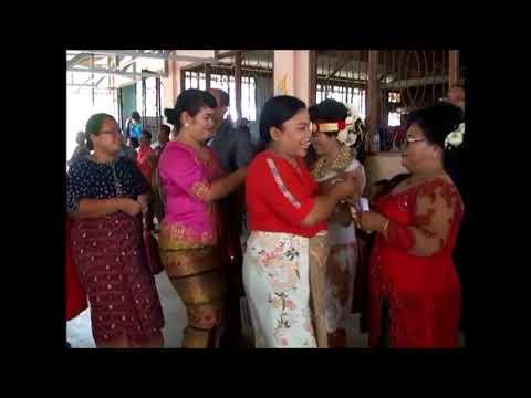 Video Pernikahan Saut Mangara Tua Sitorus S.pd & Renata Br Sianipar