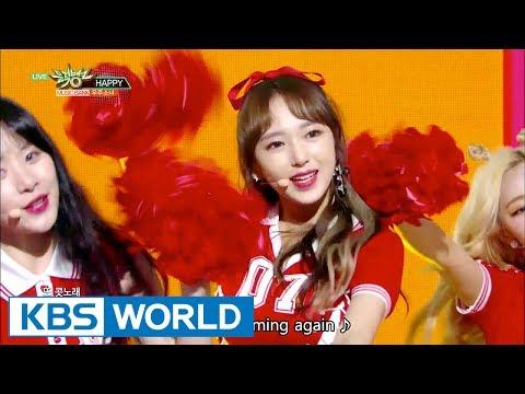 WJSN (우주소녀) - HAPPY [Music Bank COMEBACK / 2017.06.09]