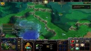 Warcraft 3 TFT - DBZ Tribute #1