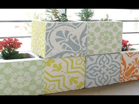 Diy Outdoor Rug Stencil