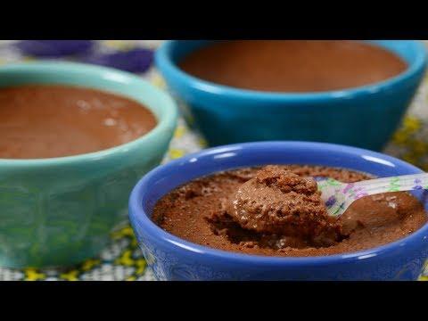 Chocolate Pots de Crème Recipe Demonstration - Joyofbaking.com