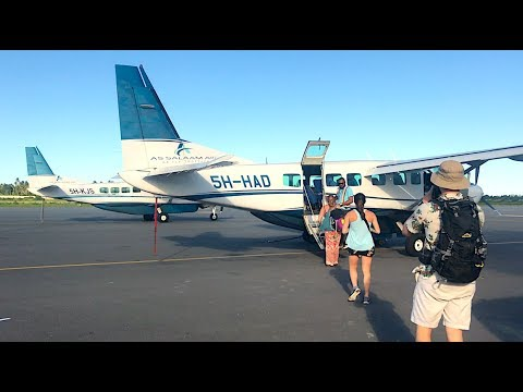 OUR PRIVATE PLANE | AFRICA VLOG DAY 14