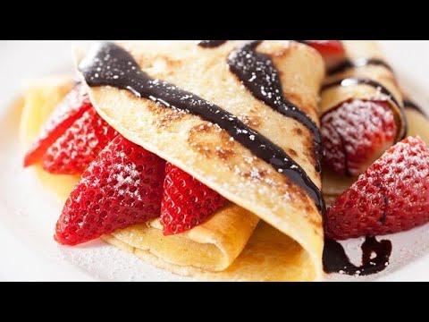 CREPAS CON HARINA DE HOT CAKES |rellenas de queso crema y mermelada