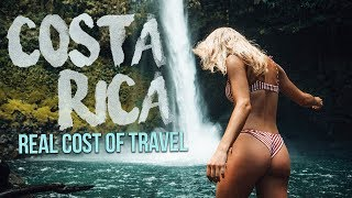 The REAL COST of traveling COSTA RICA (Arenal to Tamarindo)