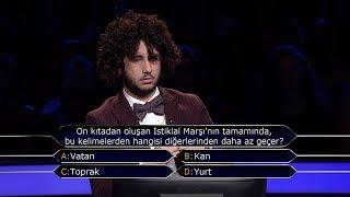 Kim Milyoner Olmak İster? - Arda Ayten, milyonluk soruya bakın ne cevap verdi?