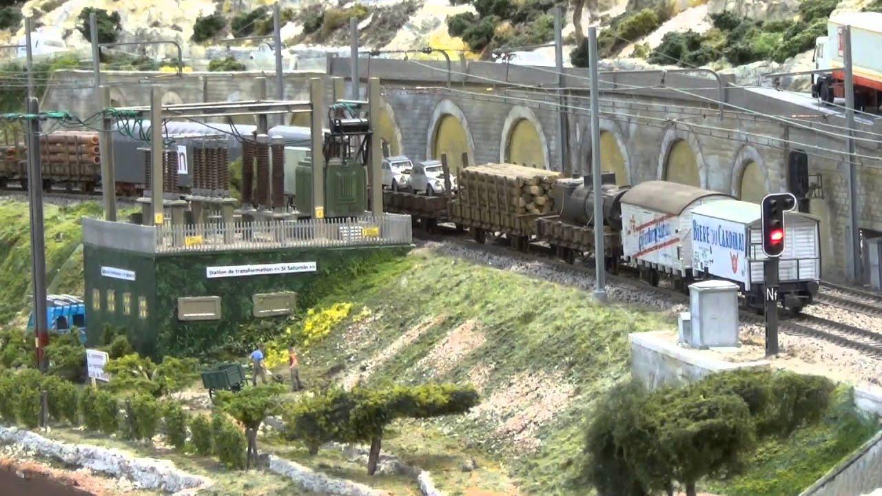 Trains miniatures le puy en velay exposition juin 2013 for Garage ad le puy en velay