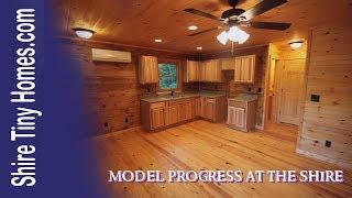 Shire Tiny Homes Model Progress Tour.