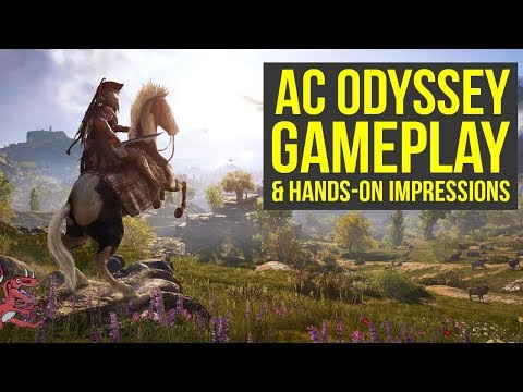 Assassin's Creed Odyssey Gameplay E3 2018 - EVERYTHING YOU NEED TO KNOW  (AC Odyssey Gameplay)