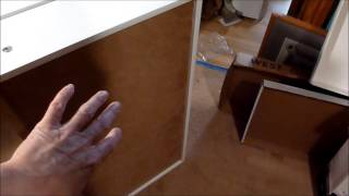 How to remove drawers from IKEA Aneboda DRESSER (type with corrugated plastic drawer fronts)