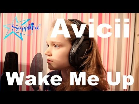 Avicii - Wake Me Up - cover  by 10 year old Sapphire - Children In Need 2014 Song All Star Choir