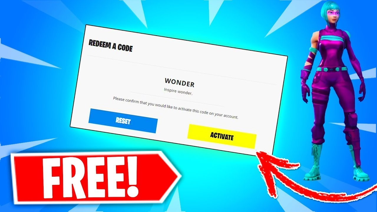 *NEW* How to Get The WONDER Skin for FREE in Fortnite ...
