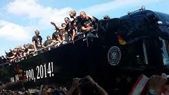 Deutsche Nationalmannschaft - Ankunft in Berlin - Weltmeister 2014