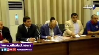 محافظ بني سويف يلتقي 11 برلمانيا لبحث مشكلات المواطنين وخطة حلها ..فيديو وصور