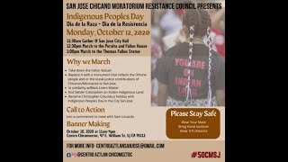 Indigenous Peoples Day / Dia De La Raza San Jose CA 10/12/2020
