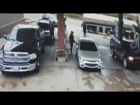 Attempted Carjacking at Allen Park gas station - Part 1