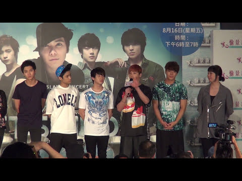 FTISLAND / FT (에프티 아일랜드) 1st Fan Meeting In Hong Kong 20130816