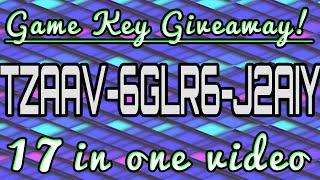 Super Duper Mega Steam Key Giveaway! 17 Steam Keys in a single video!
