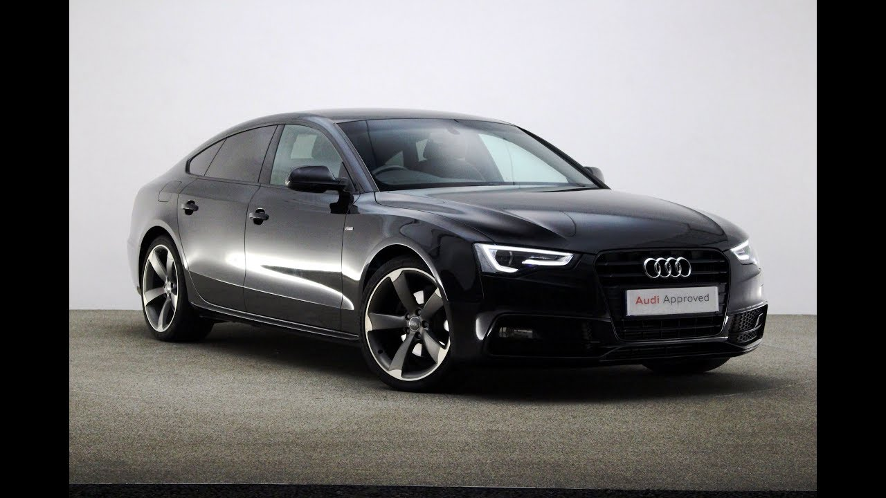 hight resolution of audi a5 sportback black edition
