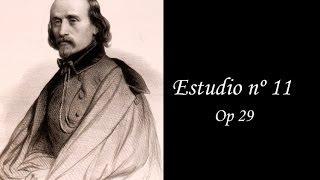 Op 29 Estudio  n 11. (H. Bertini)