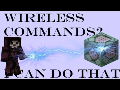 How to Make your Commands Wireless - Minecraft Tutorial