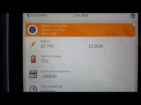 Adams Off Grid Solar: New Victron BMV-702 Battery Monitor & Basic Setup