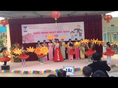 Tiết mục múa hát tập thể giáo viên CGD - Bài ca Cô giáo trẻ
