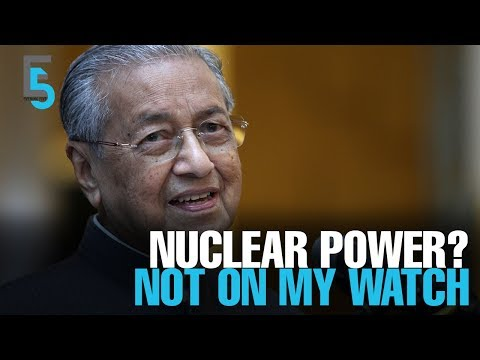 EVENING 5: Malaysia scraps nuclear ambitions