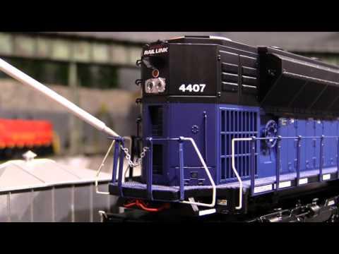 MTH Montana Rail Link SD70ACe