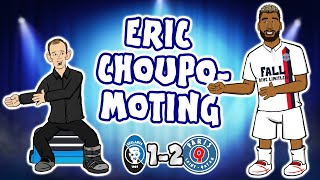 💥ERIC CHOUPO-MOTING!💥 PSG beat Atalanta 2-1 (Champions League Parody Goals Highlights Neymar Mbappe)