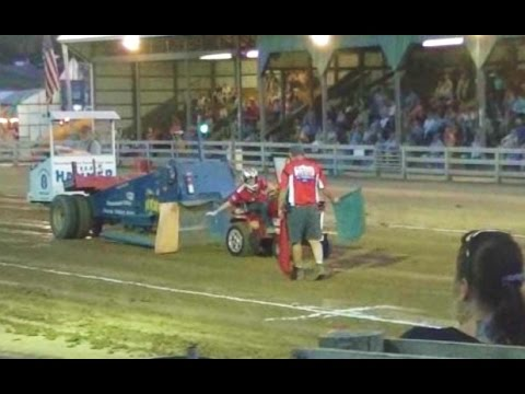 2014 Highland County Fair Lawn Tractor Pull - Monterey VA