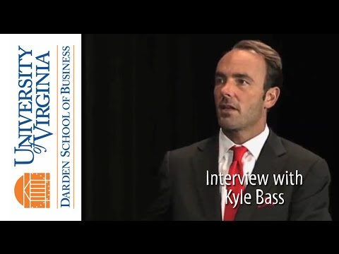 Darden TV: Interview with Kyle Bass