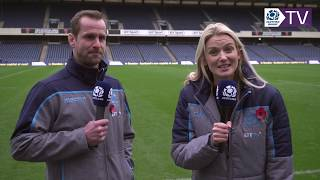 Chris Paterson and Jo Wilson | Autumn Test Preview
