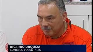 Bombero cordobés participó de la búsqueda de Santiago Maldonado