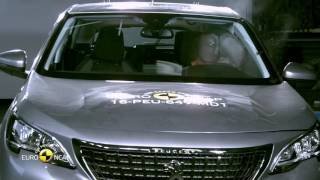 Euro NCAP Crash Test of Peugeot 3008