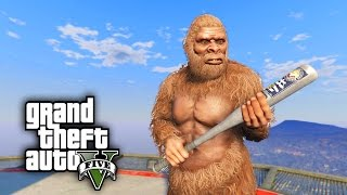 BIGFOOT ROYAL RUMBLE CHALLENGE - GTA 5 PC Mods and Challenges