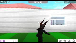 Scaring the people in Bloxburg (FAILS)