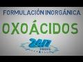 Oxoácidos. Formulación inorgánica. Química