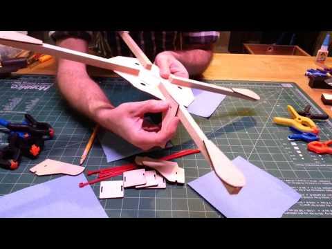 Part 1 of 4 DroneKits.us Quad Frame / Drone Frame Build Video