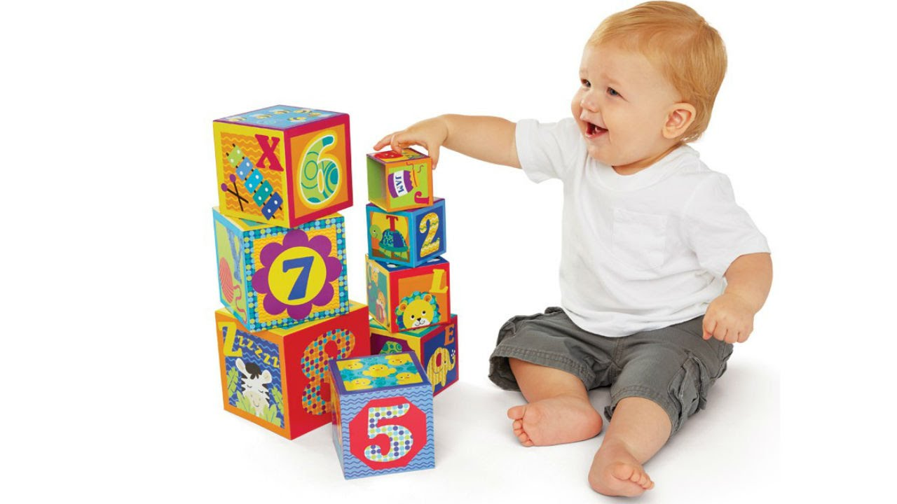 Baby Building Blocks Gift Ideas Educational Toys Planet Youtube