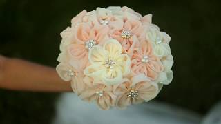 Свадебный букет. Букет невесты. Брошь-букет. Wedding bouquet. Brooch bouquet. Bride's bouquet