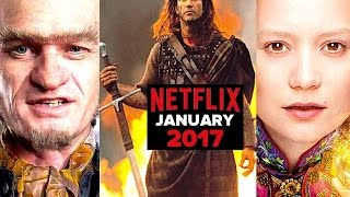 Everything Coming & Leaving Netflix in January 2017