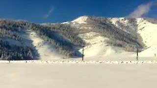 Алтай, село Бичикту-Бом, ноябрь 2016 г.