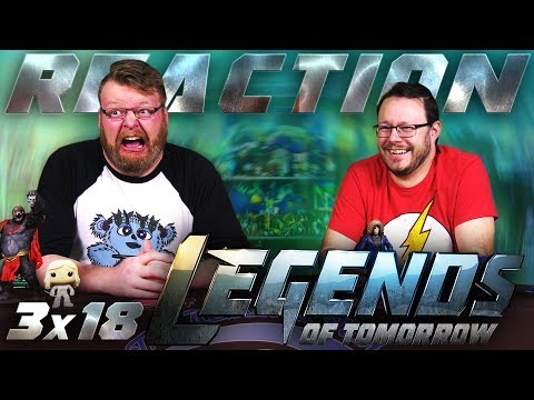 """Legends of Tomorrow 3x18 REACTION!! """"The Good, the Bad, and the Cuddly"""""""