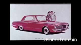 1963 Valiant Signet Commercial Dealer Film - Introduction - Gary Owens Voice Over